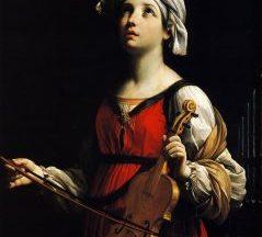 Por que Santa Cecília é considerada a padroeira dos músicos?