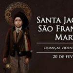 Hoje a Igreja celebra São Francisco e Santa Jacinta Marto, videntes da Virgem de Fátima