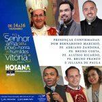 Programação do 1º Hosana Pernambuco na Canção Nova Gravatá