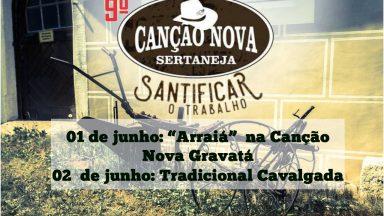 9º Canção Nova Sertaneja na Canção Nova Gravatá - 01 e 02 de junho