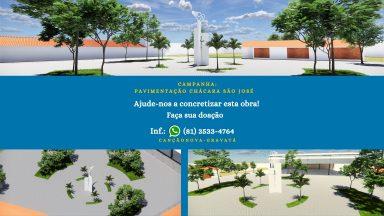 Campanha: PAVIMENTAÇÃO CHácara São José