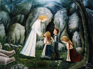 3 aparicao anjo