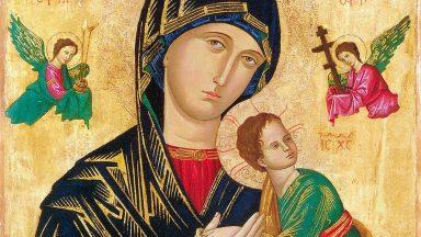 Maria, Mãe e mulher orante
