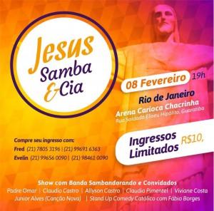 JesusSambaeCiaIngresso