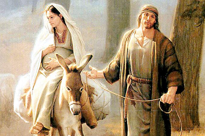Resultado de imagem para maria grávida de jesus
