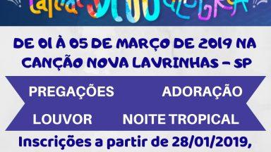 Carnaval 2019 - Inscrições Abertas!