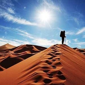 Andar no deserto da Oracao