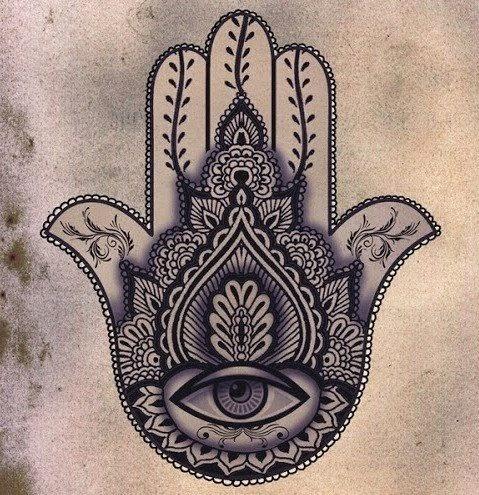 Tatuagem Mão de Maria