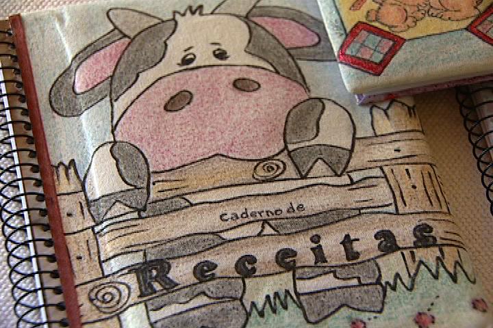 Favoritos Pintura camiseta em giz de cera   Manhã Viva KR54