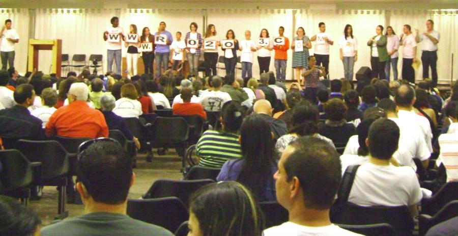 Romaria Nacional de Surdos Aparecida 2012