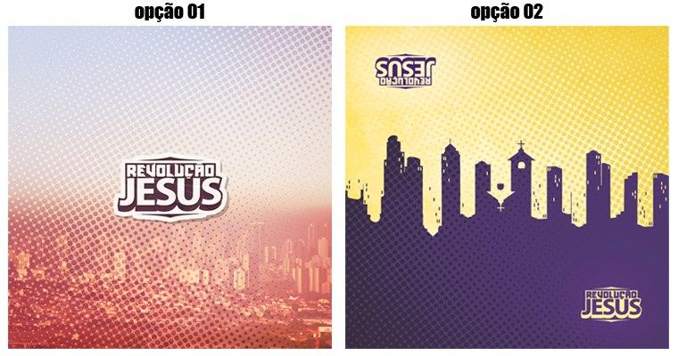 Capa cd Revolução Jesus