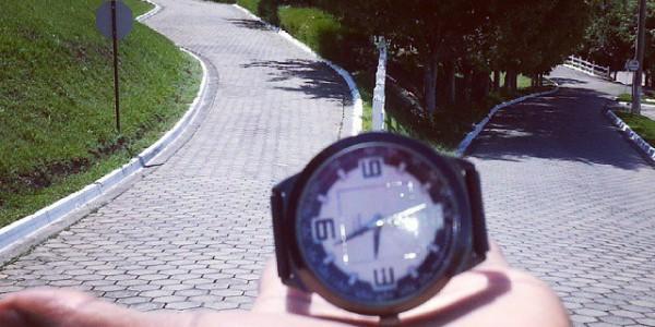 O tempo está voando