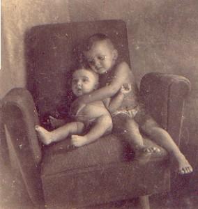 Ricardo Sá e seu irmão mais velho Eduardo Antonio