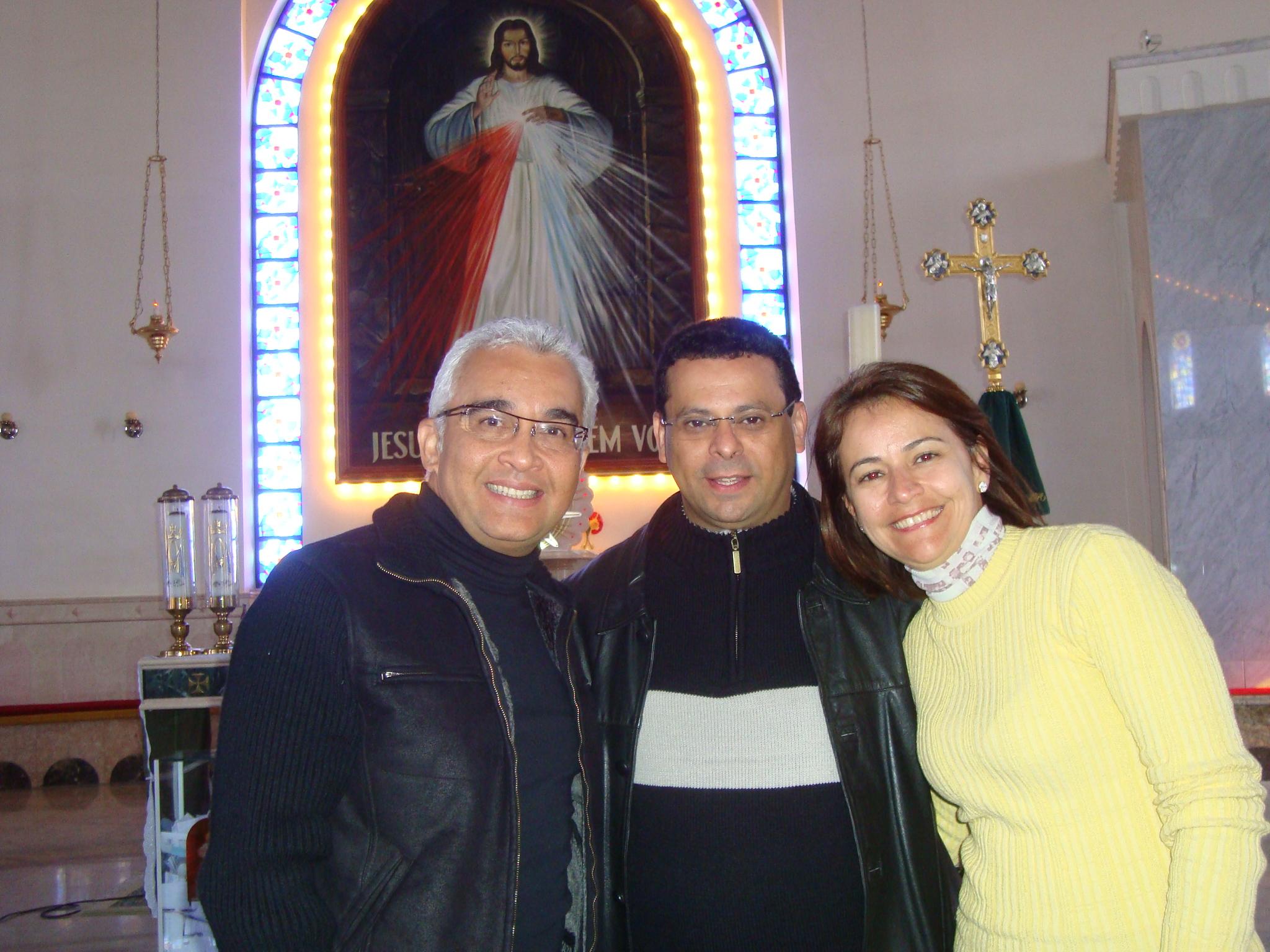 Santuário da Misericórdia em Curitiba. Obrigada pelo carinho Pe.Ednilson!