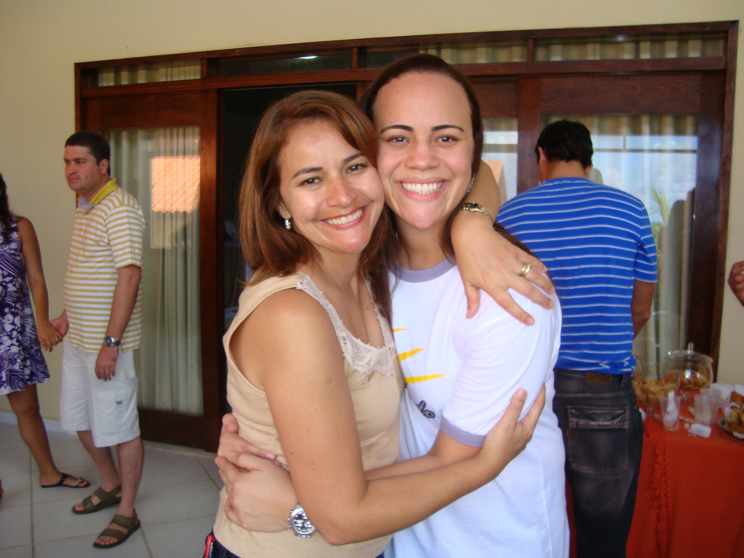 Obrigada Rosinha por tanto amor e dedicação no retiro dos casais ai na PB!
