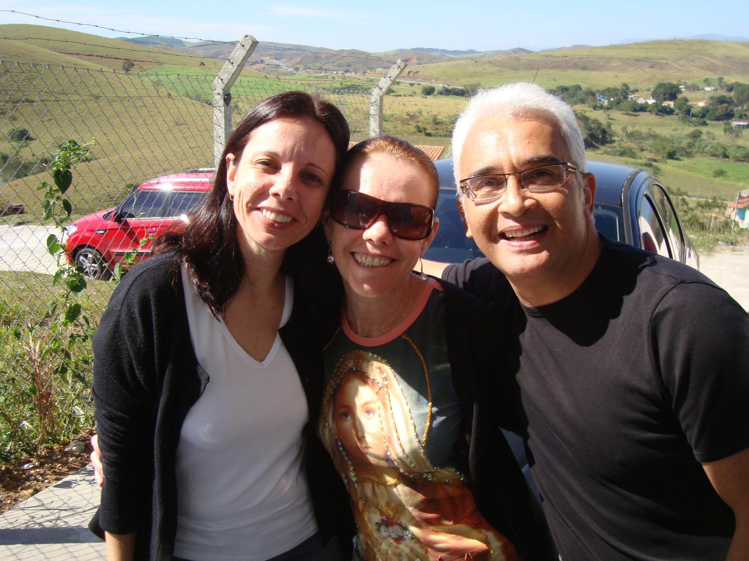 Simone, Márcia Louzada e meu melhor amigo, meu amor Rico!