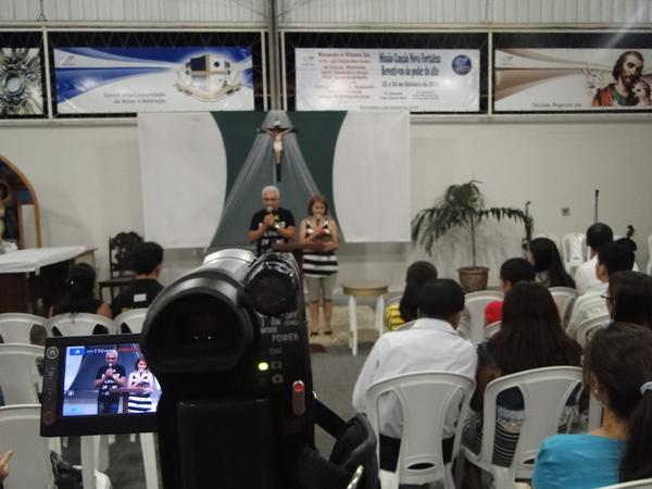 Grupo de Casais 15/10/10 em nossa casa de missão Fortaleza CE