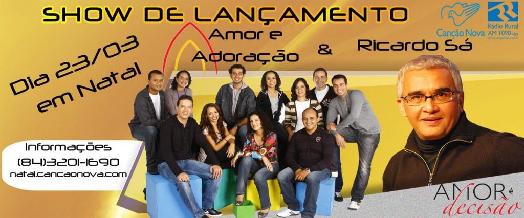 Show com Ricardo Sá & Amor e Adoração