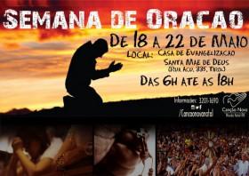 Cartaz Semana de Oração Maio WEB
