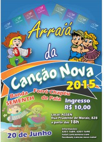 Cartaz Festa Junina 2015 WEB