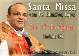 Divulgação Missa Pe Edimilson cópia