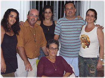 Minha mãe e meus irmãos