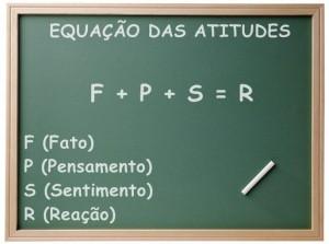 quadro negro (equação das atitudes)