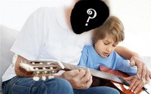 ensinando a tocar