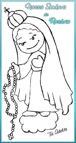 nsa-sra-rosario-tia-adelita-colorir