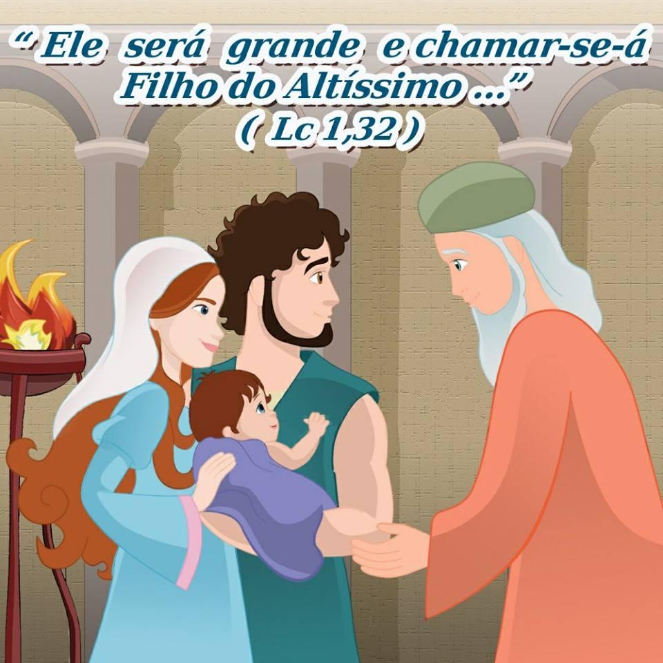 card apresentaçao de jesus