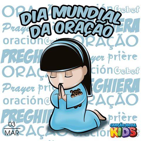 card oração