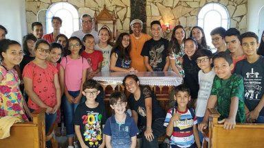 Projeto Sentinelas - Crianças evangelizando crianças