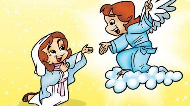 """""""Eis aqui a serva do Senhor! Faça-se em mim segundo a Vossa vontade.""""  (Lc 1, 38)"""