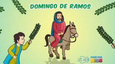 Domingo de Ramos: Vamos viver intensamente mesmo dentro de casa!