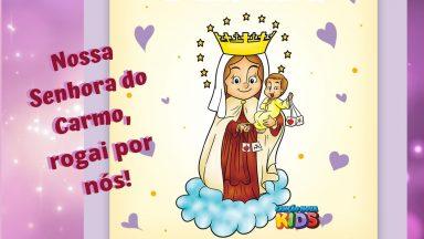 16 de Julho - Nossa Senhora do Carmo, rogai por nós