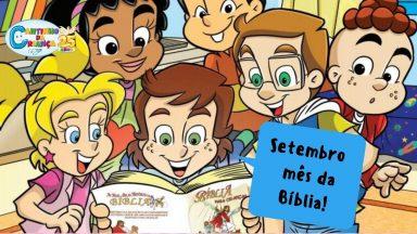 Vamos descobrir porque setembro é o mês da Bíblia?