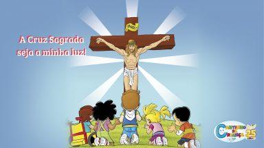 A Cruz nos recorda o amor infinito de Jesus por nós!