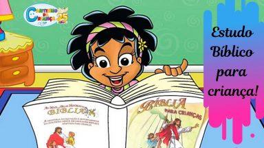 Diário bíblico também é para criança!