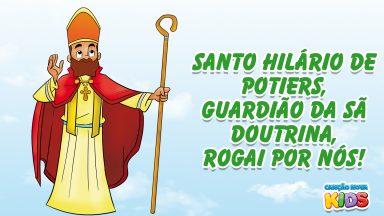 Santo Hilário de Poitiers, guardião da Sã Doutrina, rogai por nós!