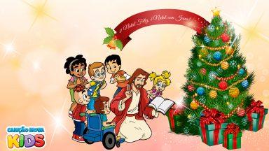 Natal feliz, é Natal com Jesus, a Sagrada Família e a nossa família!
