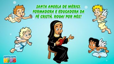 Santa Ângela de Mérici, formadora e educadora da fé cristã, rogai por nós!