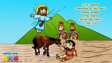 Querido São Paulo Apóstolo, nos ajude a levar o Evangelho onde quer que estejamos!