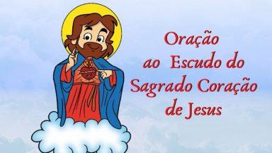 Oração ao Escudo do Sagrado coração de Jesus