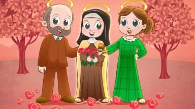 São Luiz e Santa Zélia, santos pais de Santa Terezinha do Menino Jesus