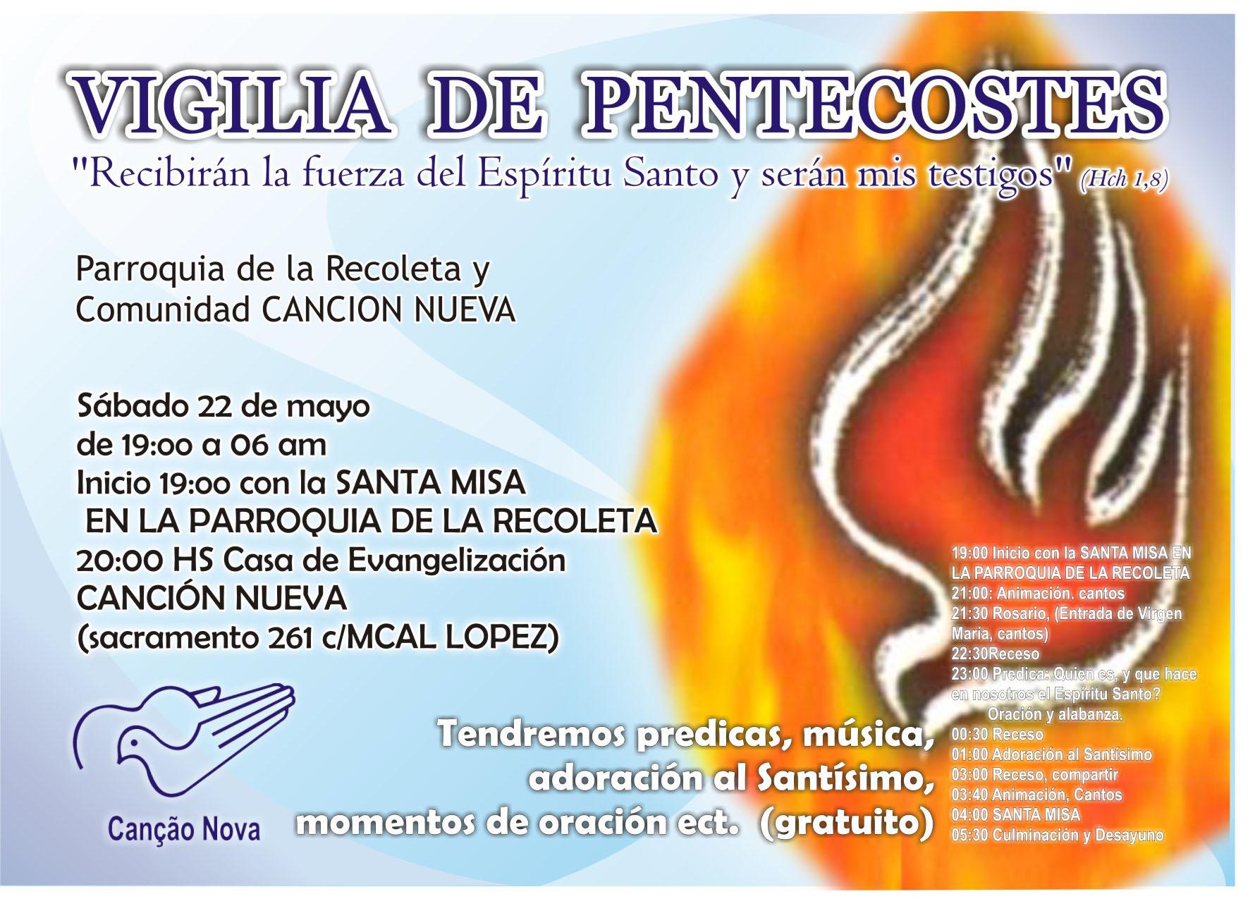 Vigilia De Pentecostés Paraguay