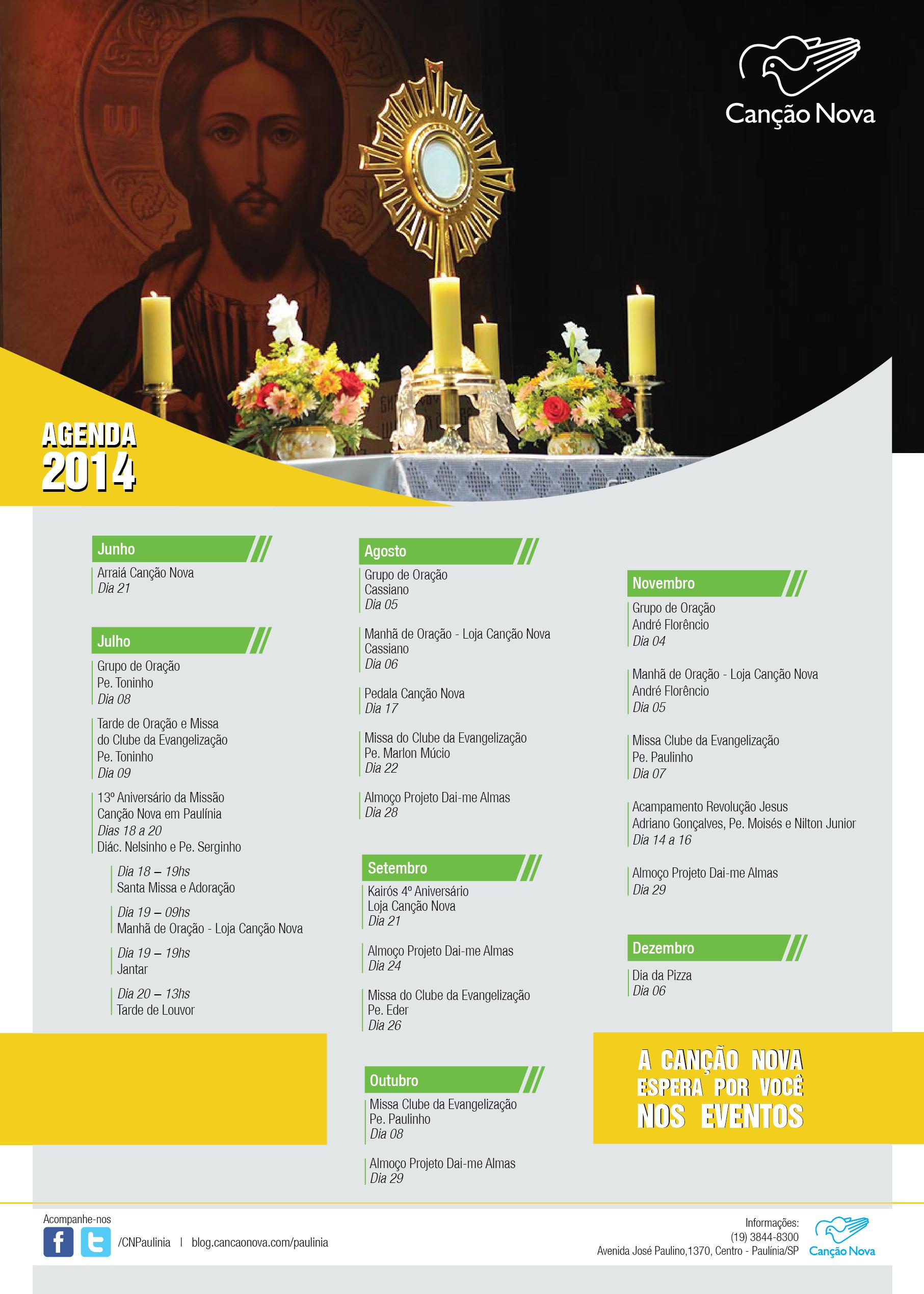 Agenda PAULINIA 2014_2