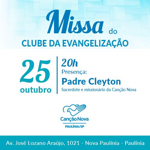 25-10_Missa_Clube_Evavangelizacao