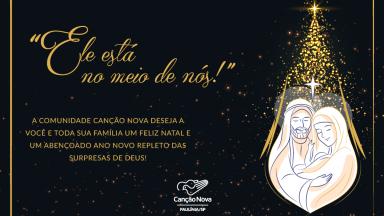 Feliz Natal e um santo Ano Novo!