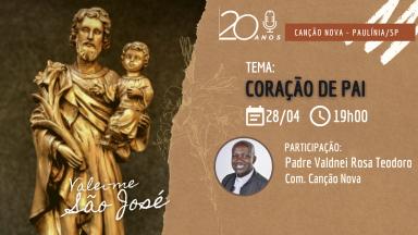 Coração de Pai: formação para homens com padre Valdinei Rosa Teodoro