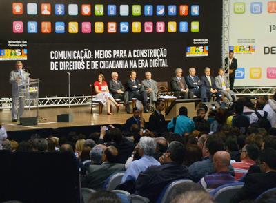 Presidente Lula faz palestra de abertura na CONFECOM